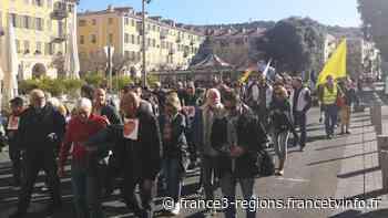 Les personnels hospitaliers manifestent à Nice ce vendredi 14 février - France 3 Régions