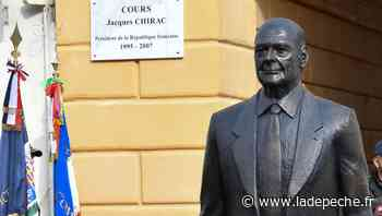 Nice : à peine inaugurée, la statue de Jacques Chirac vandalisée - LaDepeche.fr