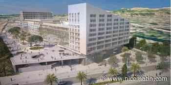 """Le projet de Quartus choisi pour le """"Grand Central"""" à Nice Arénas - Nice-Matin"""