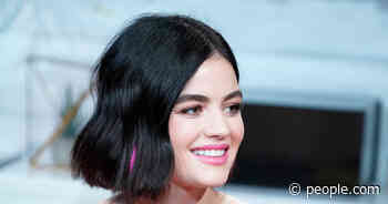 Live on People Now: Lucy Hale Has the Perfect Date Night Idea for Your Valentine's Weekend