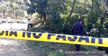 Pandillero MS muerto al enfrentarse a policías en Texistepeque, Santa Ana - Solo Noticias El Salvador