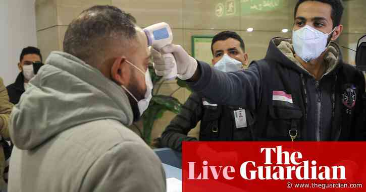 Coronavirus latest updates: first confirmed case in Africa – live news