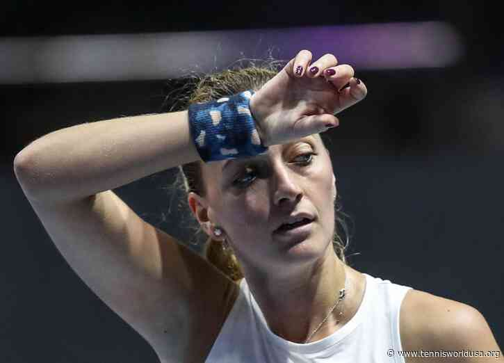 St. Petersburg: Illness forces Petra Kvitova's withdrawal; Sakkari packs off Bencic