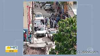Três homens são presos suspeitos de roubar agência dos Correios, em Raposos, na Grande BH - G1