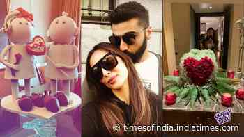 This is how Malaika Arora and Arjun Kapoor celebrated their first Valentine's Day post going public with relationship
