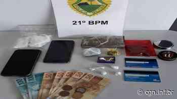 Polícia Militar faz apreensão de drogas em Dois Vizinhos - CGN
