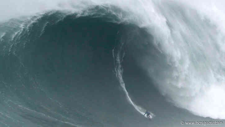 Watch these brave surfers ride death-defying monster waves