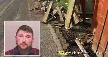 Passenger impaled with a fence plank in horror crash as driver's act of kindness ended in tragedy