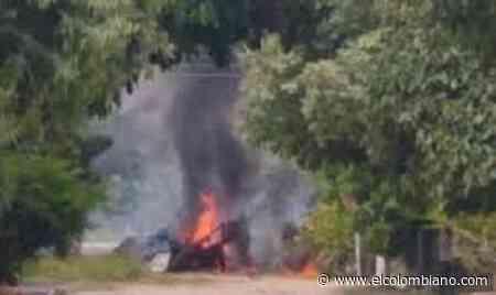 Estalla carro bomba en Arauca - El Colombiano