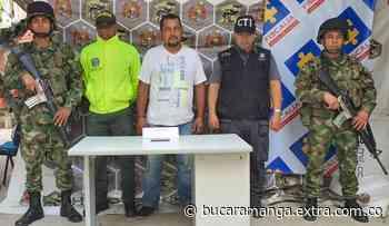 Capturado alias 'Enrique', cabecilla del Eln y responsable de atentado en Arauca [VIDEO] - Extra Bucaramanga