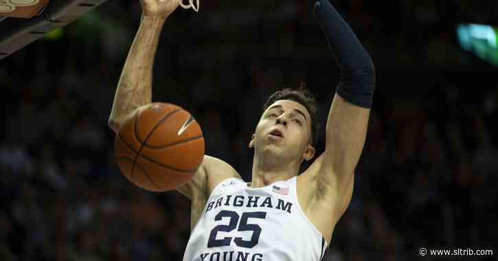 Gavin Baxter is back for BYU, and the Cougars' basketball fortunes are better for it