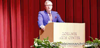 Former Rep. Charlie Dent delivers the 2020 Kenner Lecture - The Brown and White