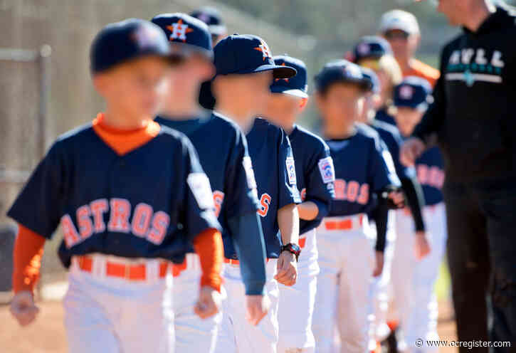'Disgusted' Little League parents ban Astros name in Long Beach, Fullerton