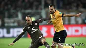 Fußball: Dynamo mit glücklichem Remis im Keller-Duell gegen St. Pauli