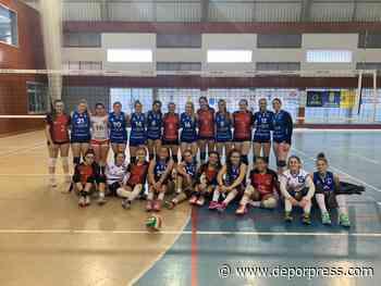El CV Cisneros Alter logra su primera victoria en la Superliga Junior Femenina - Deporpress