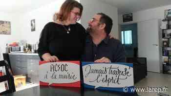 """Le mariage """"metal"""" de Marie-Anne et Simon, à Saint-Ay, leur a ouvert les portes des Z'amours pour la Saint-Valentin - Saint-Ay (45130) - La République du Centre"""