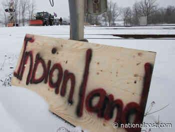 B.C. First Nation group denies involvement with pro-Wet'suwet'en highway blockade