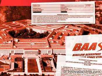 Inside the Pentagon's Secret UFO Program
