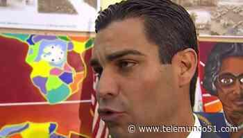 Nuevo episodio entre el alcalde Suárez y el comisionado Carollo - Telemundo 51 - Miami