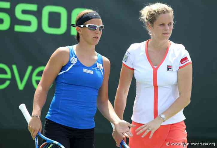 Kirsten Flipkens: I am sure Kim Clijsters will reach a very high level