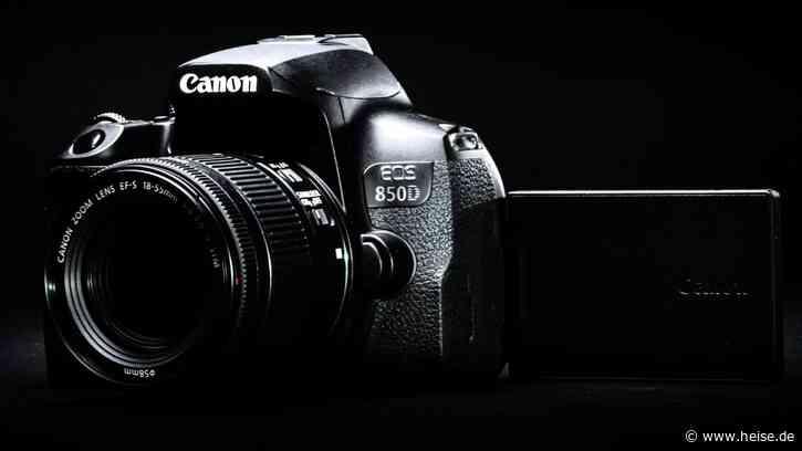 Canon: Einsteiger-Spiegelreflexkamera EOS 850D mit Augen-Autofokus - c't Fotografie