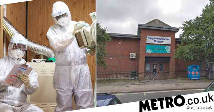 Doctor's surgery in Portsmouth closed over suspected coronavirus infection