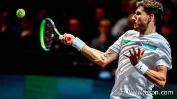 Monfils beats Evans to progress to semis