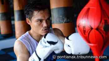 Hisar Mawan Belajar Kidal Jelang Tarung Live di Boxing Championship MetroTv - Tribun Pontianak