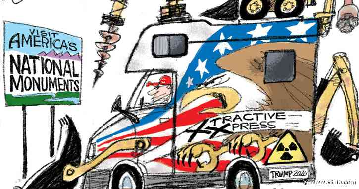 Bagley Cartoon: Monumental Tragedy