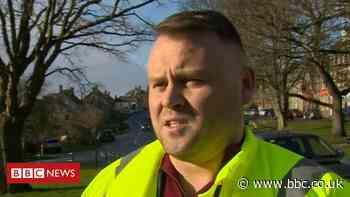 Weather report councillor Steven Bridgett 'must not ride gritter'
