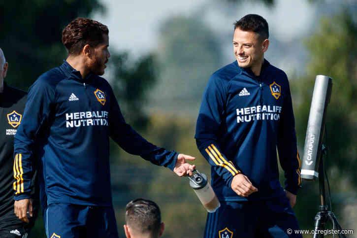 Javier 'Chicharito' Hernandez set for Galaxy debut Saturday in preseason game