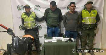 Capturan a dos hombres por porte ilegal de armas en Guamal - Seguimiento.co