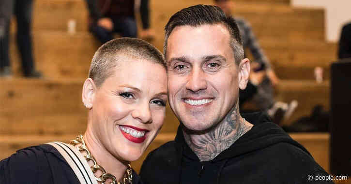 Carey Hart Wishes Wife Pink a Happy Valentine's Day: 'Thanks for Putting Up with My S—'