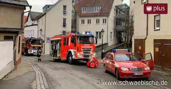 Feuerwehreinsatz Blaubeuren: Frau vergisst Essen auf dem Herd - Schwäbische