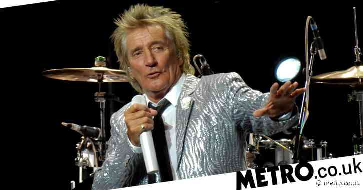 Rod Stewart 'throws Nazi salute before attacking security guard' in shocking footage from New Year's Eve party