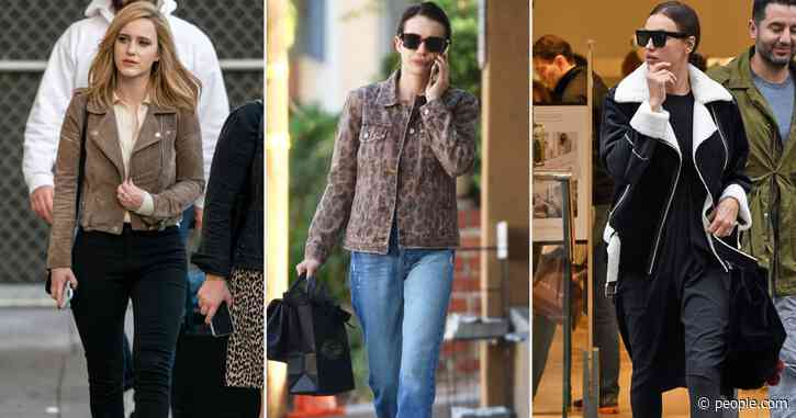 Emma Roberts, Irina Shayk, and Rachel Brosnahan All Shop This Brand for Cool Jackets (and It's on Sale at Nordstrom)