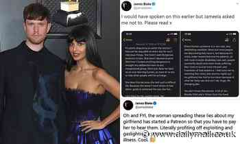 Jameela Jamil's musician boyfriend slams 'disgusting' trolls for accusing her of Munchausen syndrome