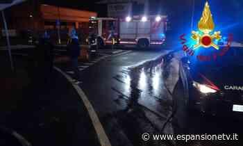 Novedrate, auto in fiamme dopo un incidente nella notte - Espansione TV