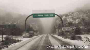 Tras nevada cierran tramo carretero Agua Prieta-Janos - Dossier Político