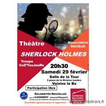 Sherlock Holmes Salle de la Tour Voisins-le-Bretonneux 29 février 2020 - Unidivers