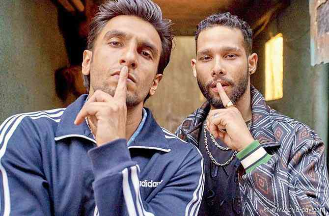 Siddhant Chaturvedi: Ranveer Singh and I were like a Bollywood couple