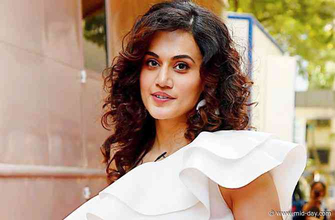 Share a gym with Taapsee Pannu