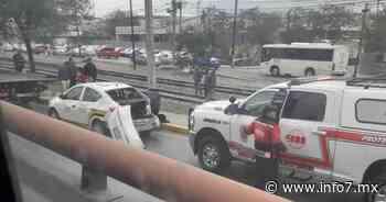 Choque con el tren deja varios heridos en San Pedro - INFO7 Noticias
