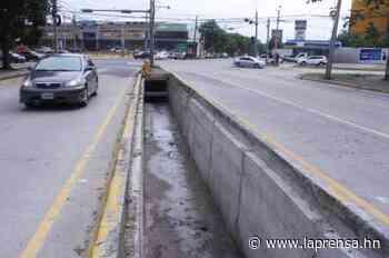 Finalizan colector de aguas lluvias en bulevar Peraza de San Pedro Sula - La Prensa de Honduras