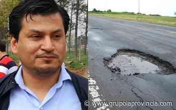 San Pedro: piden la urgente reparación de la Ruta 1001 - Grupo La Provincia