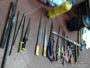 Incautan 16 estoques y cinco machetes en penal de San Pedro - ÚltimaHora.com