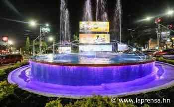 Habilitan nueva Fuente Luminosa de San Pedro Sula - La Prensa de Honduras
