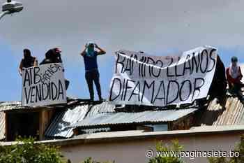 Levantan motín en la cárcel de San Pedro - Pagina Siete