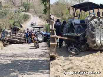 Un muerto deja choque de moto con tractor en San Pedro - Diario La Libertad