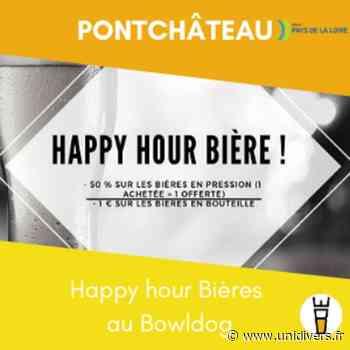 Happy hour Bières au Bowldog Bowldog Pontchateau Sainte-Anne-sur-Brivet 5 février 2020 - Unidivers